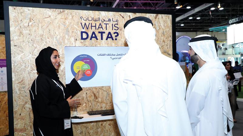 «دبي الذكية» قطعت شوطاً كبيراً في تطوير عمليات تبادل وتنظيم البيانات.  من المصدر