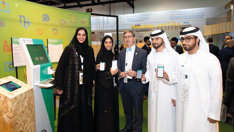 «دبي الذكية» أطلقت الهوية الرقمية بالتعاون مع الهيئة العامة لتنظيم الاتصالات وهيئة الأنظمة والخدمات الذكية في أبوظبي. تصوير: أحمد عرديتي