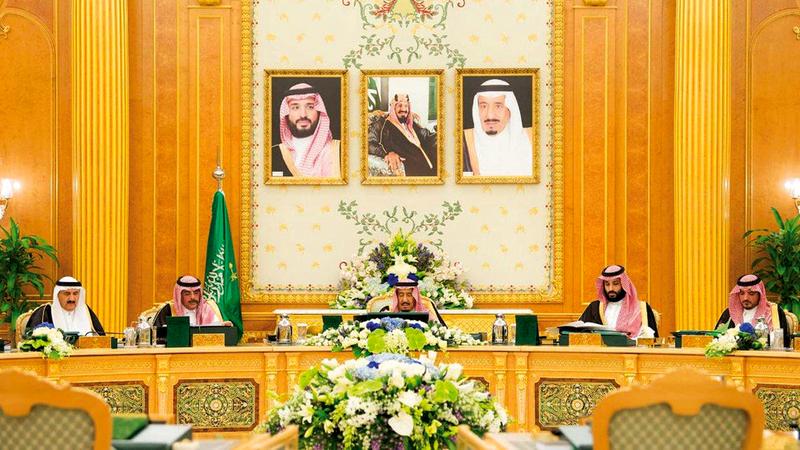 مجلس الوزراء السعودي يرحب بتشكيل فريق سعودي - تركي للكشف عن ملابسات اختفاء خاشقجي. واس