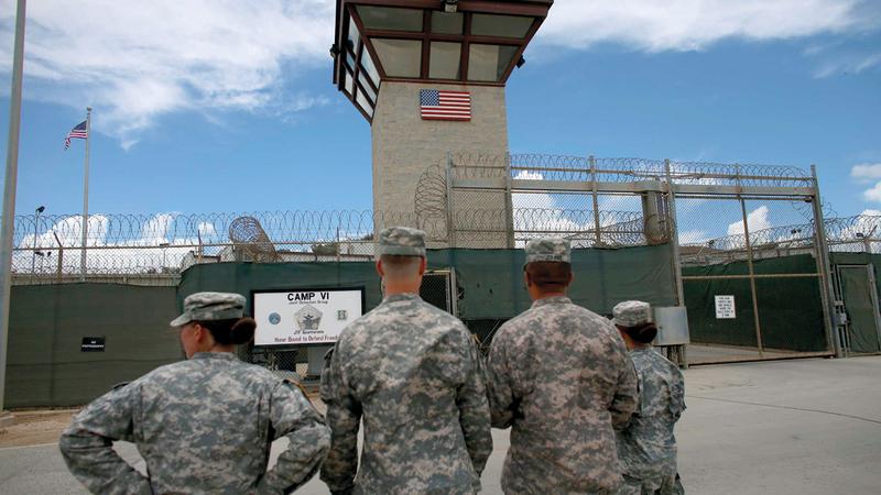 بيوت العسكريين المكلفين بتشغيل السجن متهالكة. غيتي