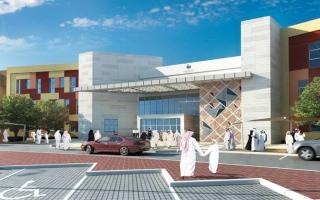 الصورة: بدء تشييد مدرستي «محمد بن زايد» و«جبل حفيت» بـ 288 مليون درهم