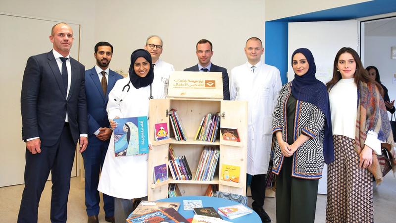 المبادرة تهدف إلى دعم ثقافة الأطفال العرب وتزويدهم بالكتب العربية والمواد المعرفية . من المصدر
