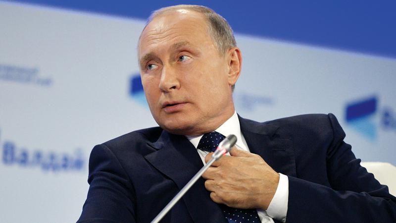 بوتين: من بين الرهائن عدد من الأميركيين. رويترز