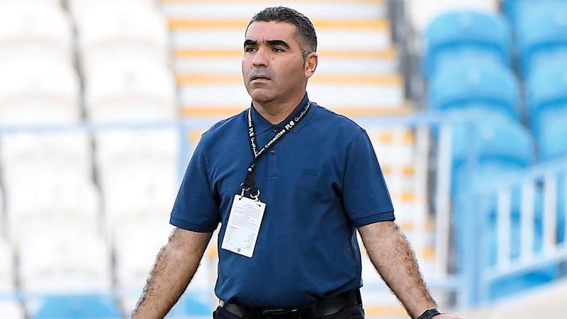 التونسي جلال قادري : المدير الفني لفريق الإمارات