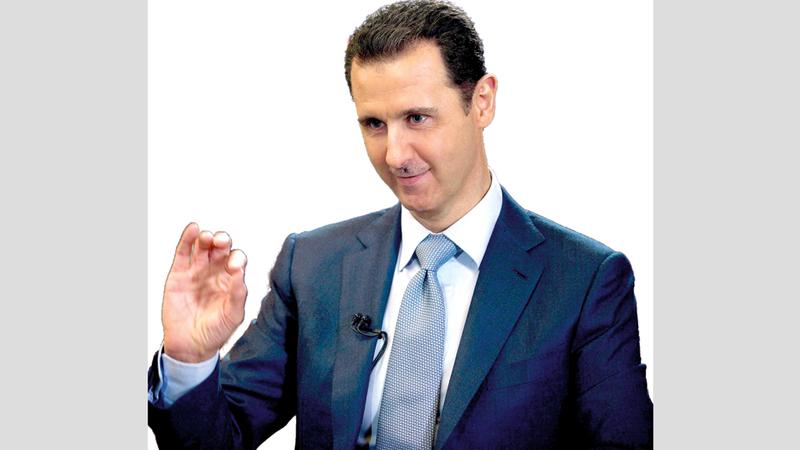 الأسد تلقى الدعم من روسيا وإيران. إي.بي.إيه