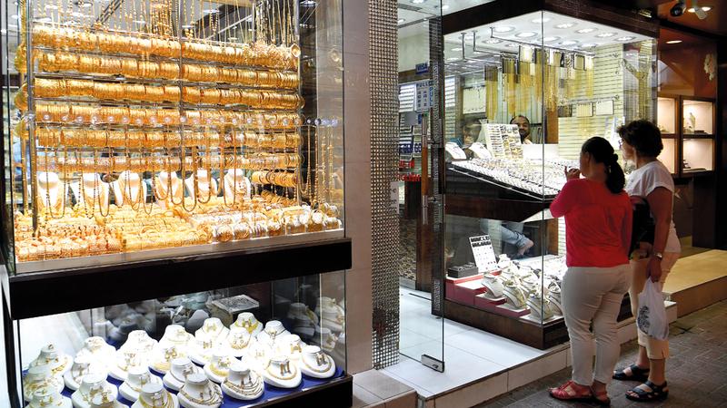 مبيعات المشغولات تحسنت خلال الربع الثالث من العام الجاري. تصوير: باتريك كاستيلو