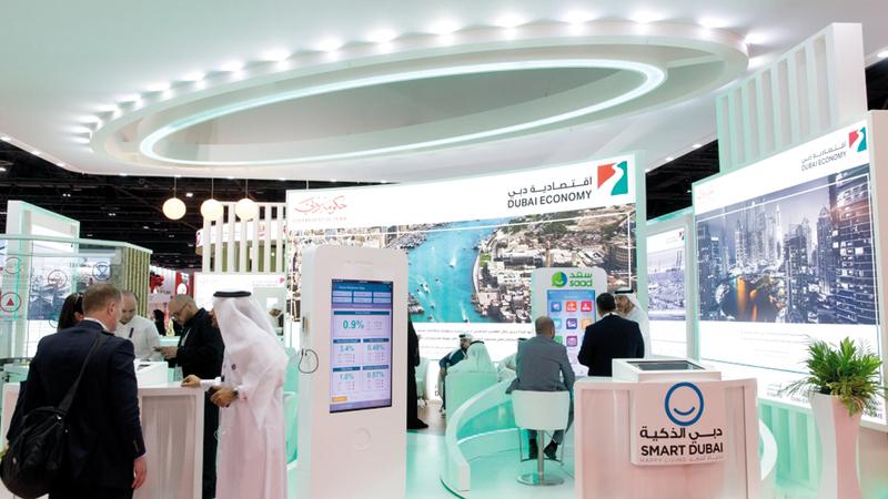 اقتصادية دبي أكدت استمرارها في تعزيز مزاولة الأعمال في الإمارة. أرشيفية