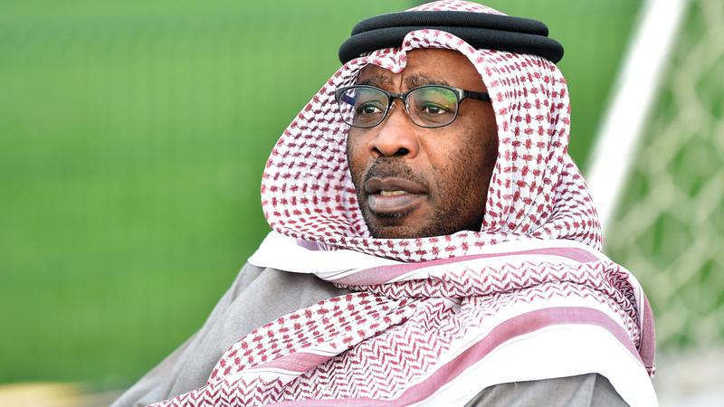 عبدالله صالح: «دعونا لا نتشاءم وننتظر التقرير الرسمي.. نتمنى وجود (عموري) مع المنتخب».