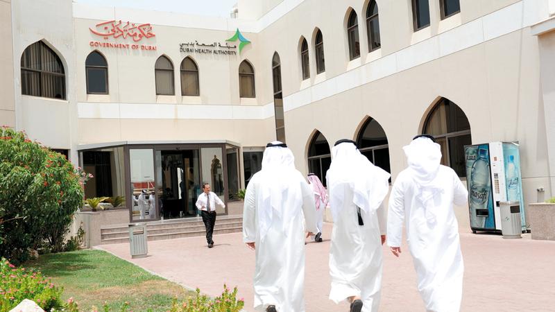«صحة دبي» أطلقت حزمة مبادرات ضمن «عام زايد». تصوير: أحمد عرديتي
