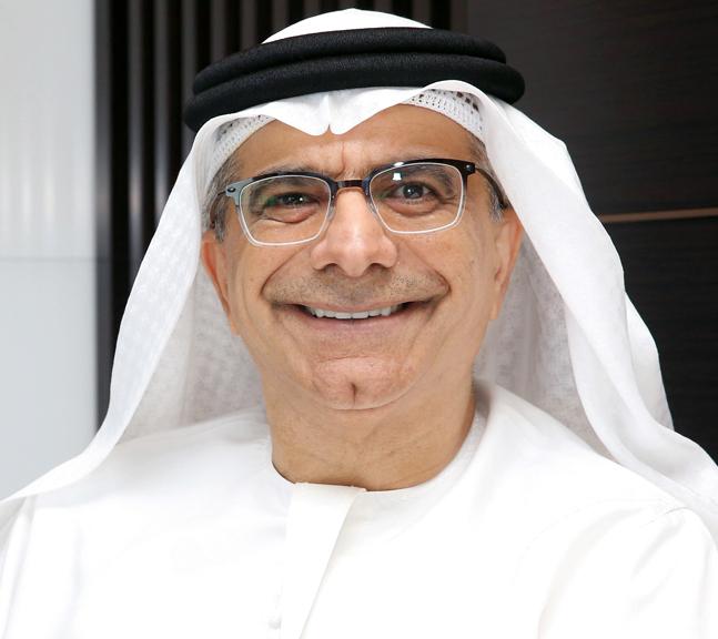 عبدالحميد سعيد: «أصبحنا أكبر شركة مدرجة من حيث القيمة السوقية في دولة الإمارات».