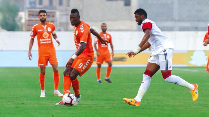السنغالي ثيام لم يُقنع أنصار البرتقالي. من المصدر
