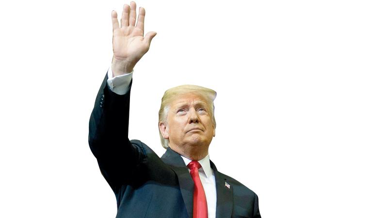 ترامب: المعاهدة تضر بمصالح أميركا. أ.ف.ب