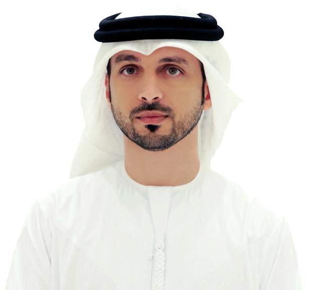 عبدالله النعيمي:  «العمل يقدمه 80من شباب العالم، تدربوا على مدى ستة أشهر».