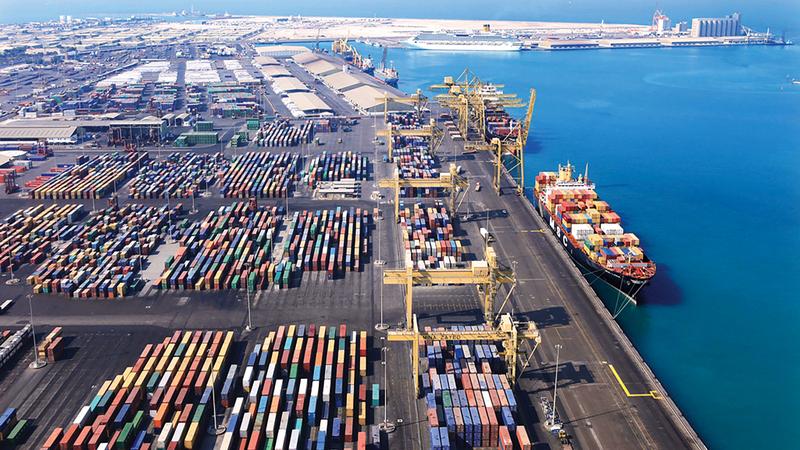 التبادل التجاري غير النفطي بين الإمارات والسعودية ارتفع إلى 79 مليار درهم في 2017. أرشيفية