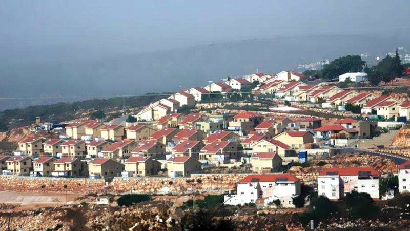 إسرائيل تهدف إلى إنشاء كتلة استيطانية متكاملة تربطها بمستوطنة كريات أربع. أرشيفية