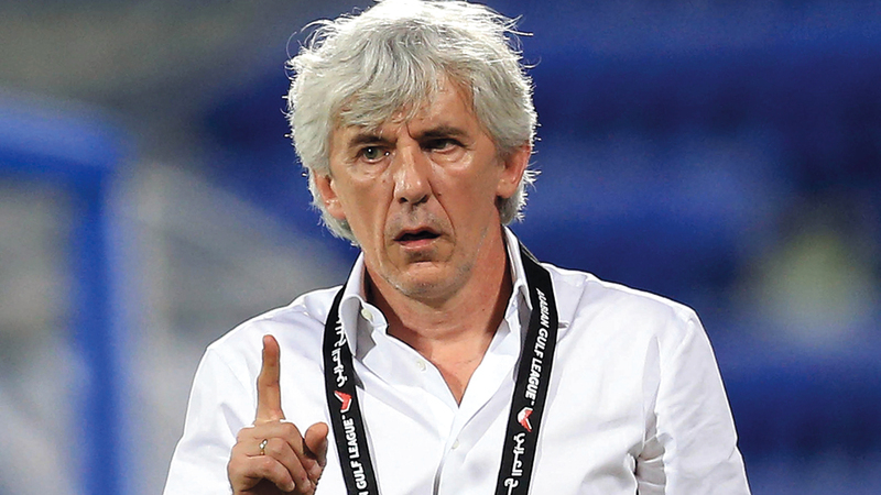 يوفانوفيتش: «لم أشاهد أي خطأ من جاسم يعقوب خلال وجودي مع النصر».