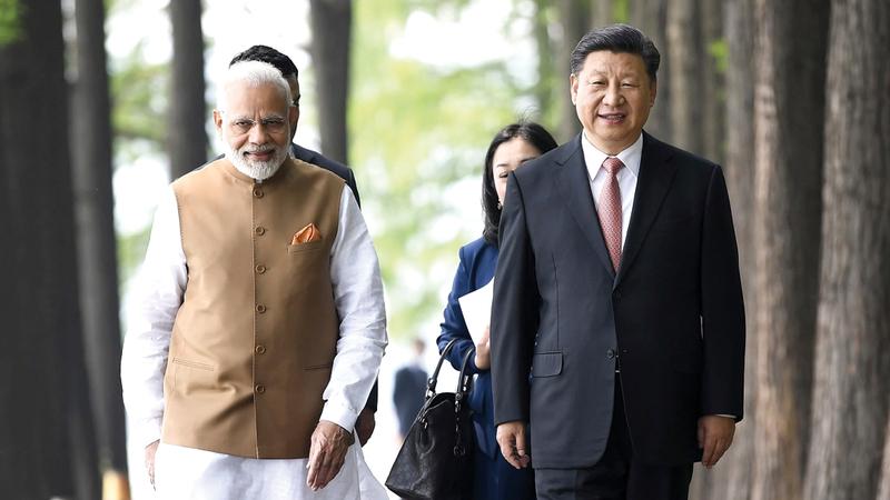 شي ومودي وافقا على صيغة التعاون بين الصين والهند. أرشيفية