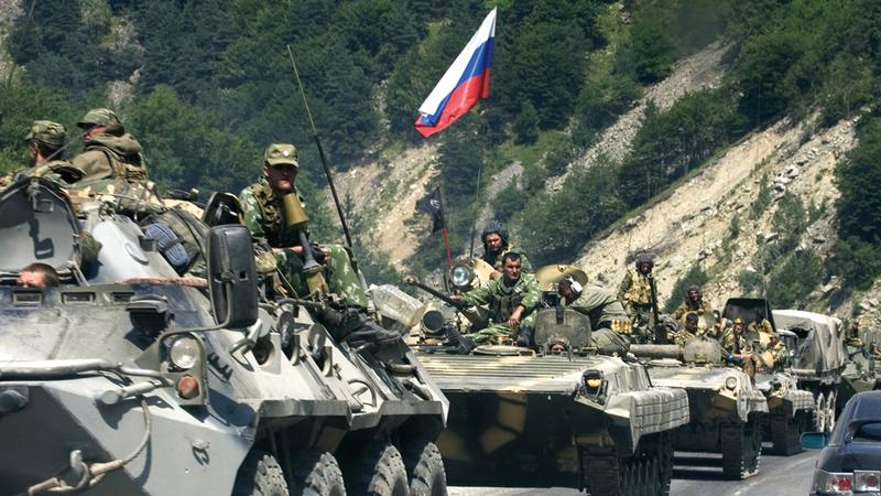 القوات الروسية حرّرت جزءاً كبيراً من مساحة سورية. أرشيفية