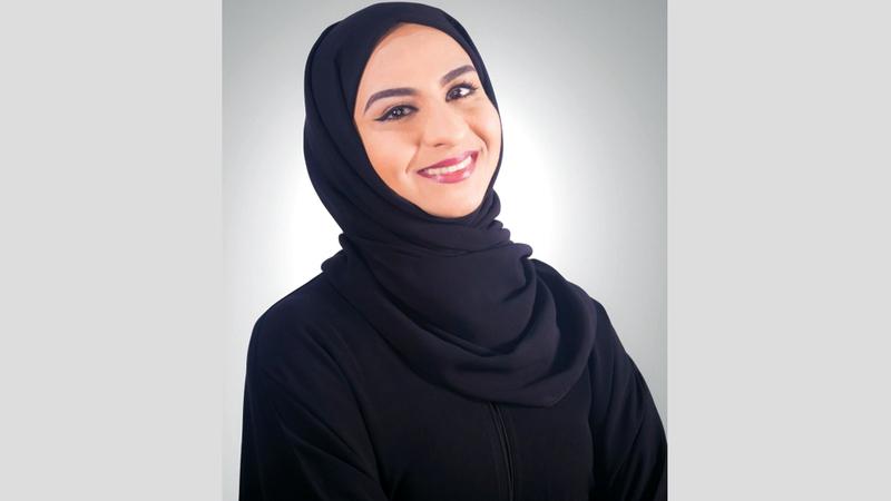 الإماراتية عبير محمد الخاجة : مدربة رياضة الكروس فيت