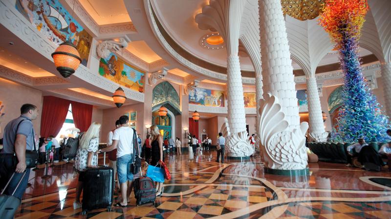 دبي استحوذت على 31.1% من إجمالي الإيرادات السياحية الدولية في منطقة الشرق الأوسط وإفريقيا خلال 2017.  الإمارات اليوم