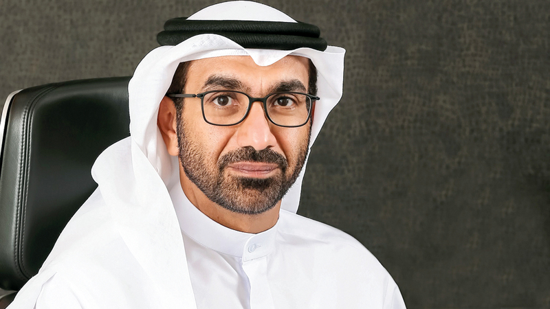 هشام عبدالله القاسم: «(الإمارات دبي الوطني البنك) فاز بجائزة أفضل بنك رقمي للأفراد في الدولة».