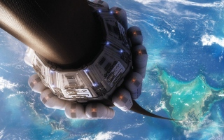 الصورة: مصعد بين الأرض والفضاء.. قد يصبح ممكناً