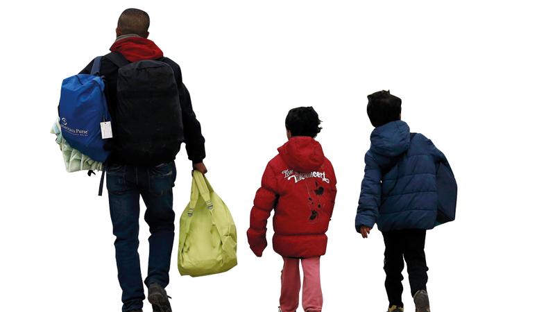 الفقر يدفع اللاجئين إلى الهجرة نحو أسواق العمل الأميركية. أرشيفية