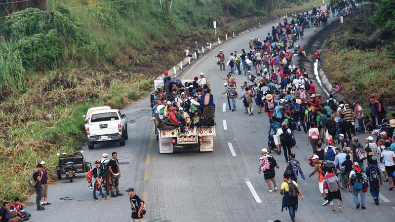 60 % من سكان هندوراس وغواتيمالا يعيشون تحت خط الفقر. أ.ف.ب