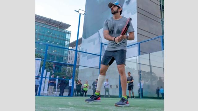 Hamdan Bin Mohammed in Dubai 30x30 Fitness Challenge