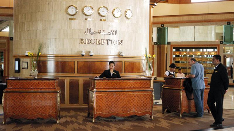 الفنادق في السوق المحلية تجد نفسها مضطرة للتعامل مع شركات الحجوزات العالمية. تصوير: أشوك فيرما