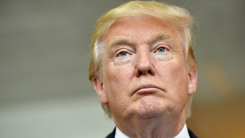 ترامب قال إن أميركا الدولة الوحيدة في العالم  التي تجنّس من يولدون على أراضيها. أ.ب