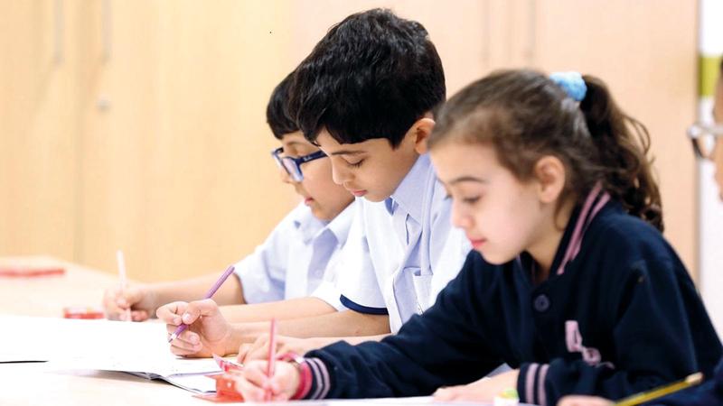 دائرة التعليم والمعرفة نفذت العديد من الخطوات لدعم الاستثمار في قطاع التعليم الخاص. من المصدر
