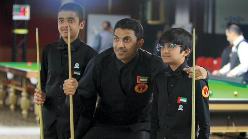 محمد شهاب يتطلع إلى دعم اللاعبين المواهب وتطوير أدائهم لخدمة منتخب البلياردو والسنوكر. من المصدر