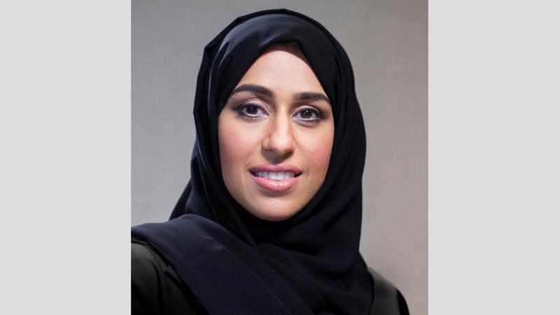 وزيرة تنمية المجتمع حصة بوحميد. الإمارات اليوم