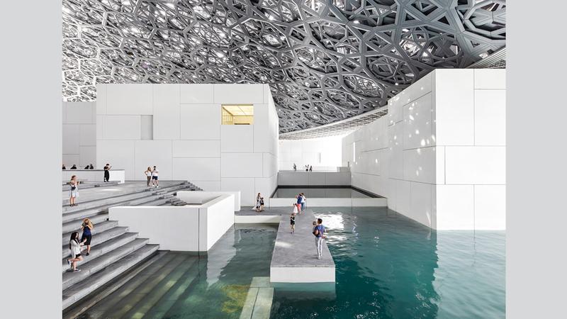 « اللوفر أبوظبي» شكل إضافة نوعية للحركة الثقافية والفنية في الإمارات والعالم. الإمارات اليوم