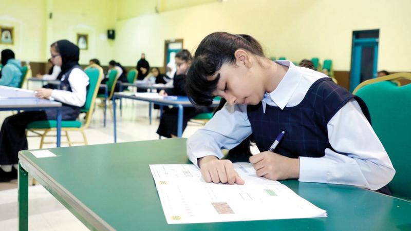 «التربية» تعمل على إحداث نقلة نوعية في التعليم عبر تمكين الطلبة من القدرات المعرفية.  من المصدر