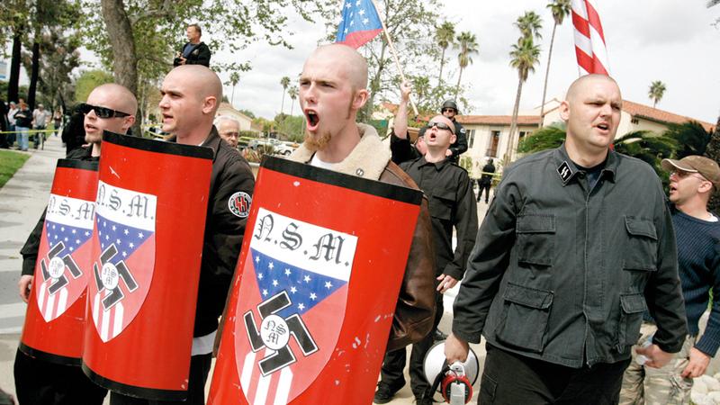 «النازيون الجدد» يسعون للوصول إلى عضوية الحزب الجمهوري.  أرشيفية
