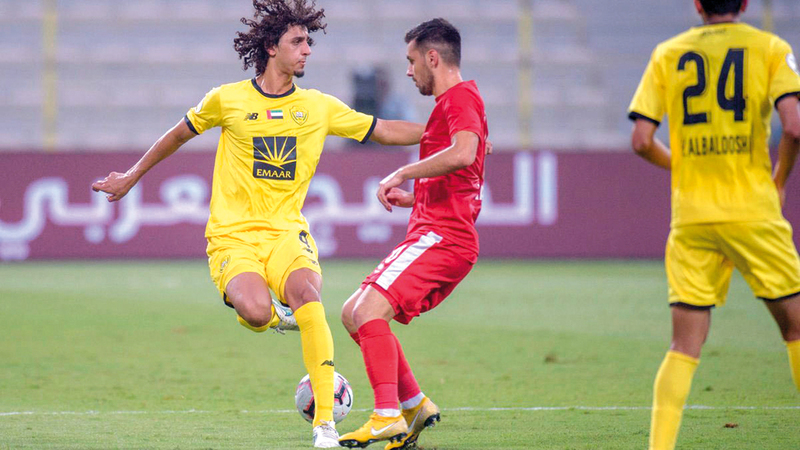 العبدولي: عبدالله جاسم من اللاعبين المميزين. من المصدر