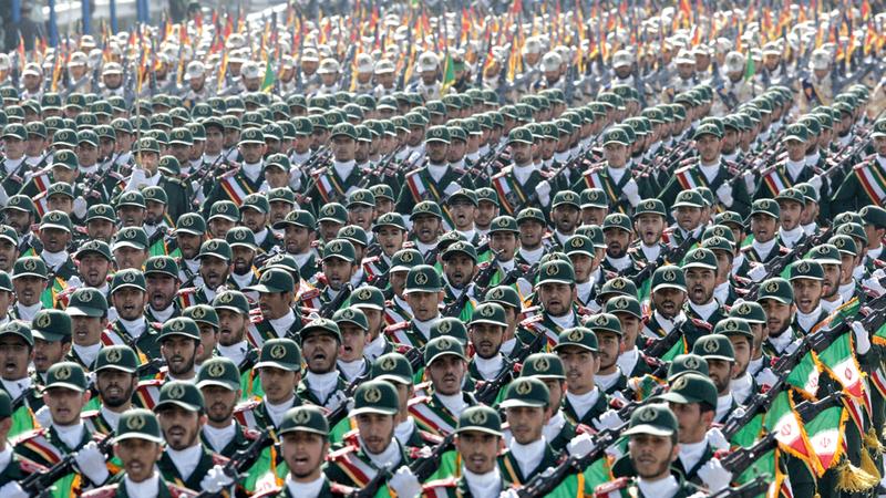 عرض عسكري للحرس الثوري الإيراني.  أرشيفية