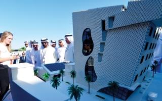 طلاب جامعات بنوا 15 نموذجاً لمنازل ذكية في دبي