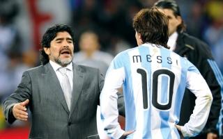 مارادونا: لم أنتقد ميسي.. والصحافة تفتعل المشاحنات بيننا