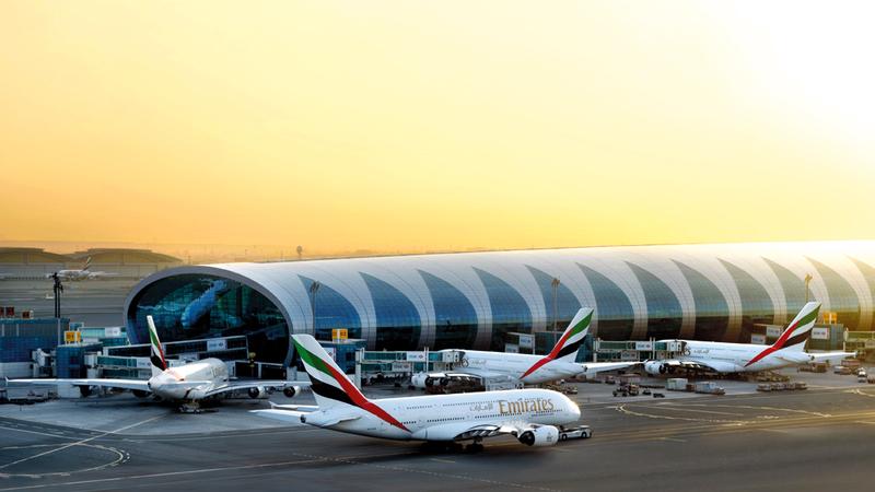 «طيران الإمارات» أطلقت خدمات نقل جديدة خلال الأشهر الـ6 الأولى من السنة المالية الجارية. من المصدر