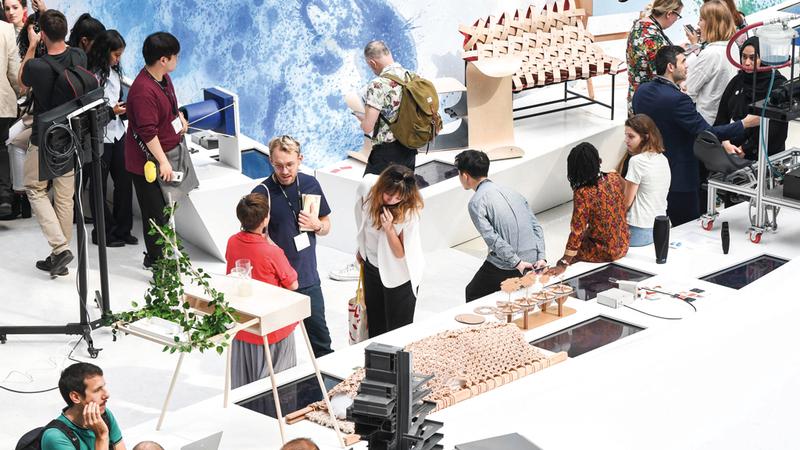 المشاركون في المعرض ينتمون لمؤسسات تعليمية رائدة عالمياً.