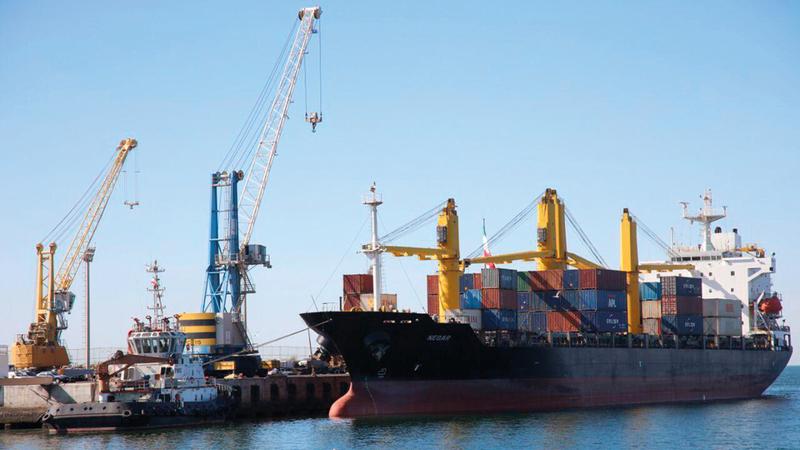 استثناء ميناء تشابهار من تطبيق العقوبات يوجه أكثر من رسالة لأطراف عدة.  أرشيفية