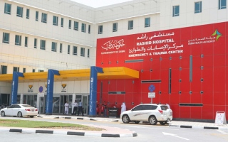 الصورة: إعادة 39 جزءاً مبتوراً إلى مرضى في مستشفى راشد