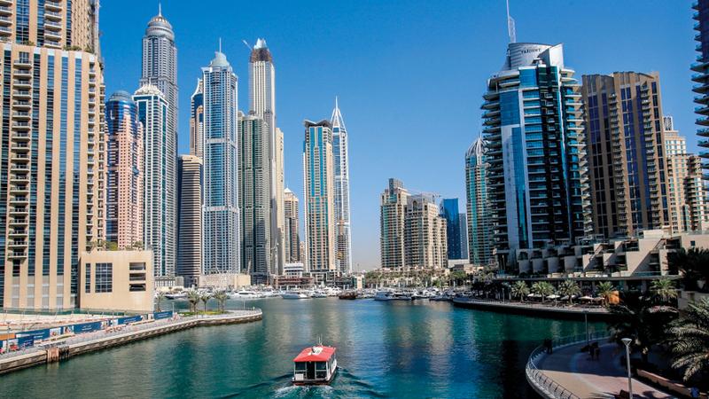 العائد العقاري في دبي يتجاوز دولاً مثل سنغافورة وفرنسا وبريطانيا وأميركا. أرشيفية