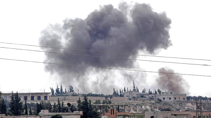 يجب أن تكون الأولوية هي الحفاظ على وقف إطلاق نار هش في ادلب. ا ف ب
