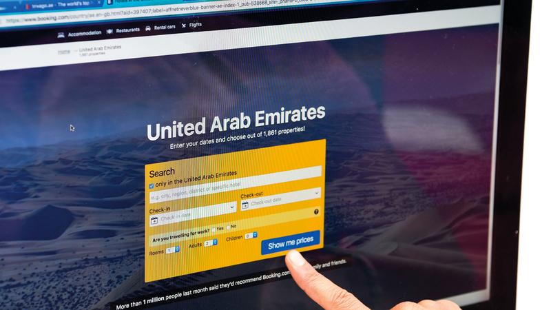 شركات الحجز الإلكتروني العالمية أصبحت تسيطر على تسويق المنتج السياحي وبيعه. تصوير: أشوك فيرما
