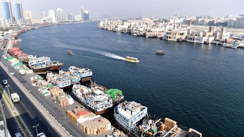 وزارة الاقتصاد تستهدف فتح أسواق جديدة أمام الصادرات الإماراتية في إفريقيا وآسيا وأميركا اللاتينية خلال العام المقبل. تصوير: باتريك كاستيلو