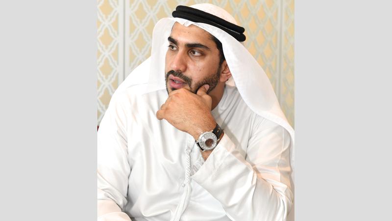 محمد بن فيصل القاسمي. من المصدر